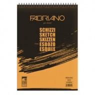 Schizzi Blocchi Spiralati Microperforati 14.8x21 - Fabriano 56614821