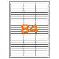 Etichette Permanenti 67x10mm 84 Adesivi 100 Fogli Premium - Idlabel A46710