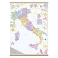 Cartina Murale Italia Postale 97x134cm - Belletti  M04PL/07