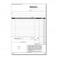 Ricevute Sanitarie Registro degli Onorari e delle Fatture Blocco 100 Moduli numerato - Gruppo Buffetti DU1653C1000