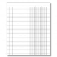 Registro Inventari a 3 colonne da 96 Pagine Nemerate - Gruppo Buffetti DU135100000