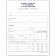 Contratto di Locazione per Uso Abitazione di Natura Transitoria - Gruppo Buffetti 1880T2000