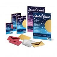 Cartoncino e Busta Oro 9x14cm  Special Events - Favini 4870