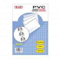 Copertine Trasparenti per Rilegare A4 in PVC - CTM03PVC