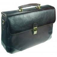Borsa Portadocumenti/Pc Marrone in Pelle - Wiler F885M