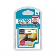 NASTRO DYMO TIPO D1 DURABLE (12MMX5.5MT) NERO/BIANCO - Dymo 80347