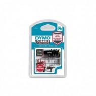 NASTRO DYMO TIPO D1 DURABLE (12MMX3MT) BIANCO/NERO - Dymo 80348
