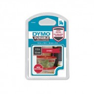 NASTRO TIPO D1 DURABLE (12MMX3MT) BIANCO/ROSSO - Dymo 80349