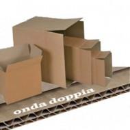 Scatola Cartone per Imballo Avana Onda Doppia 600x600x600mm - Polyedra 71944