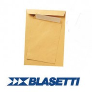 Buste a sacco Avana 250x353mm 500 Pezzi Senza Finestra 100gr Adesiva Monodex - Blasetti 47475