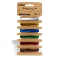 Nastrini Metallizzati Set 6 Colori 2 Metri - Wiler STR01