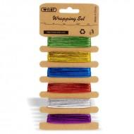 Nastrini Metallizzati Set 6 Colori 1 Metri - Wiler STR06