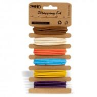 Nastrini Flanella  Set 6 Colori 1 Metri - Wiler STR07