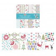 """Carta per Origami 8""""x 8"""" 180 gsm Stampa su 2 Lati - Wiler DP18088D"""
