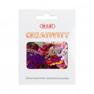 Accessori Creativity in Metallo e Plastica Love - Wiler KK18L