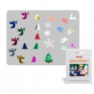 Accessori Creativity in Metallo e Plastica Natale - Wiler KK18C