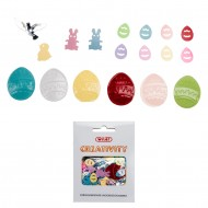 Accessori Creativity in Metallo e Plastica Pasqua - Wiler KK18E