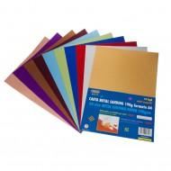 Carta Metal Sanding 10 Fogli Colori Assortiti - Wiler MSP10
