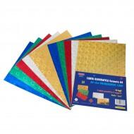 Carta Olografica 10 Fogli Colori Assortiti - Wiler HP10