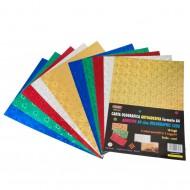 Carta Olografica Autoadesiva 10 Fogli Colori Assortiti - Wiler HP10A