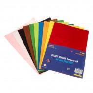 Carta Feltro Soffice 10 Fogli Colori Assortiti - Wiler FELTS10