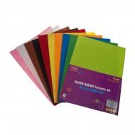 Carta Feltro Rigido 10 Fogli Colori Assortiti - Wiler FELTH10