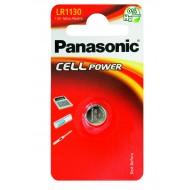 MICROPILA A PASTIGLIA LR1130 ALCALINA 1,5V - Panasonic LR1130