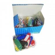 Portachiavi con targhetta scatola 100 pezzi - Wiler KR100