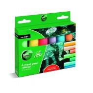 maxi Gessi Colorati Tondi da 6 pezzi - Lebez 532