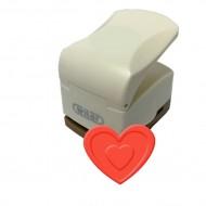 Fustella con effetto rilievo 32mm cuore - Wiler CPE304