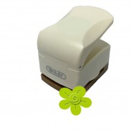 Fustella con effetto rilievo 32mm fiore - Wiler CPE314