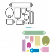 Fustelle Sottili Per Macchina Fino a 80mm Targhette - Wiler PC1571