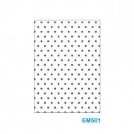 Cartella effetto rilievo 2D Forma Puntini - Wiler EM501