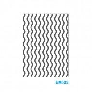 Cartella effetto rilievo 2D Forma Onde - Wiler EM503