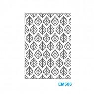 Cartella effetto rilievo 2D Forma Foglie - Wiler EM506