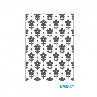 Cartella effetto rilievo 2D Forma Fiori - Wiler EM507