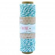 Cordino in cotone Colore Azzurro Rocchetto da 27 metri - Wiler TWL05