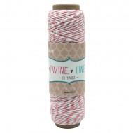 Cordino in cotone Colore Salmone Rocchetto da 27 metri - Wiler TWL07