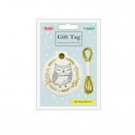 Kit etichette con filo Sagoma Gufo 10 etichette + 2m di spago - Wiler TAG307
