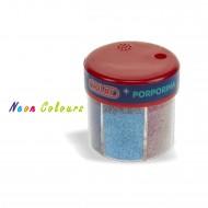 Barattolo Glitter Polvere Rainbow da 6 colori Neon - Wiler GF0610R