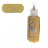 Colla Glitter Glue Oro da 20 ml  - Wiler GLG202