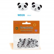 Accessori Creativity in Legno Panda - Wiler WD26