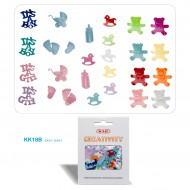 Accessori Creativity in Metallo e Plastica BABY - Wiler KK18B