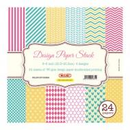 """Carta Kraft per Origami 8""""x 8"""" 180 gsm Stampa su 1 Lato - Wiler DP18088A"""