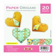 Carta per Origami 150X150mm 80 gsm Stampa su 1 Lati - Wiler OP15A