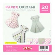 Carta per Origami 150X150mm 80 gsm Stampa su 1 Lati - Wiler OP15B
