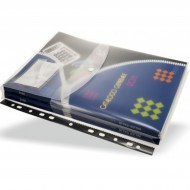 Busta A4 in PP a Foratura Universale - Soffietto con Patella e Porta Etichetta XBS2