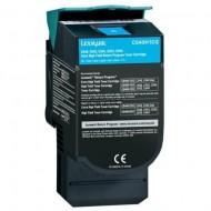 Toner Compatibile con LEXMARK C540 Ciano 2K