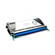 Toner Compatibile con LEXMARK X746 X748 Ciano