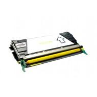 Toner Compatibile con LEXMARK X746 X748 Yellow